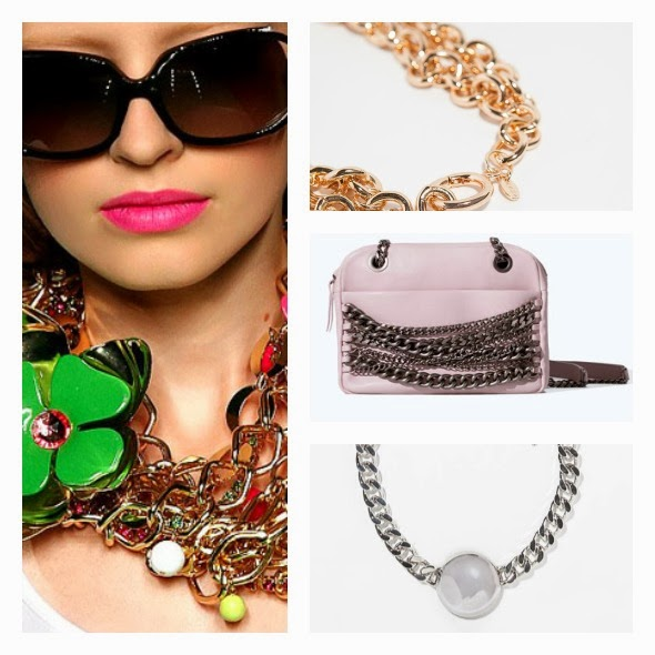 encadenadas tendencias complementos y accesorios primavera verano 2014