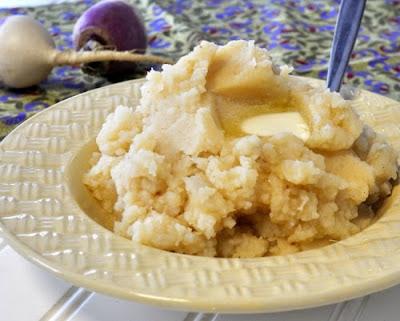 Turnip Potato Purée