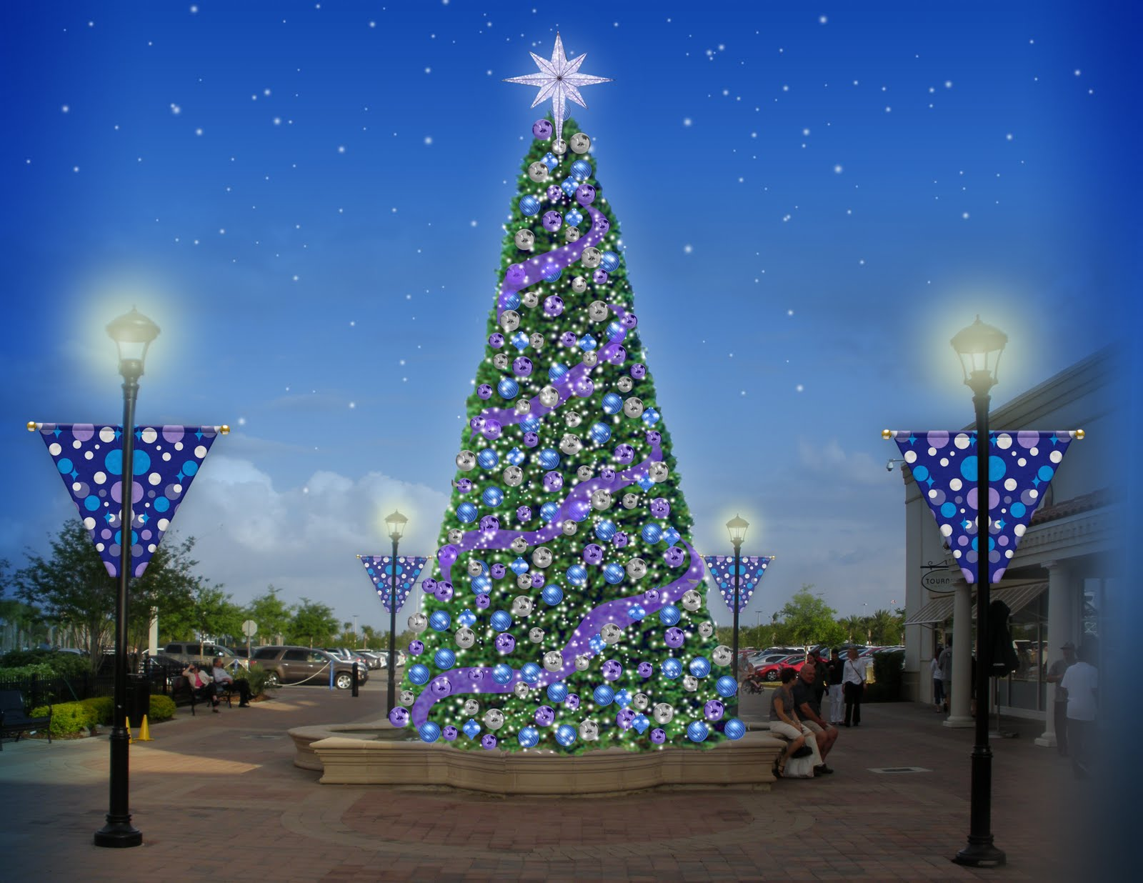 commercial img led christmas decorations help light decor display money displays and for make fundraise organization