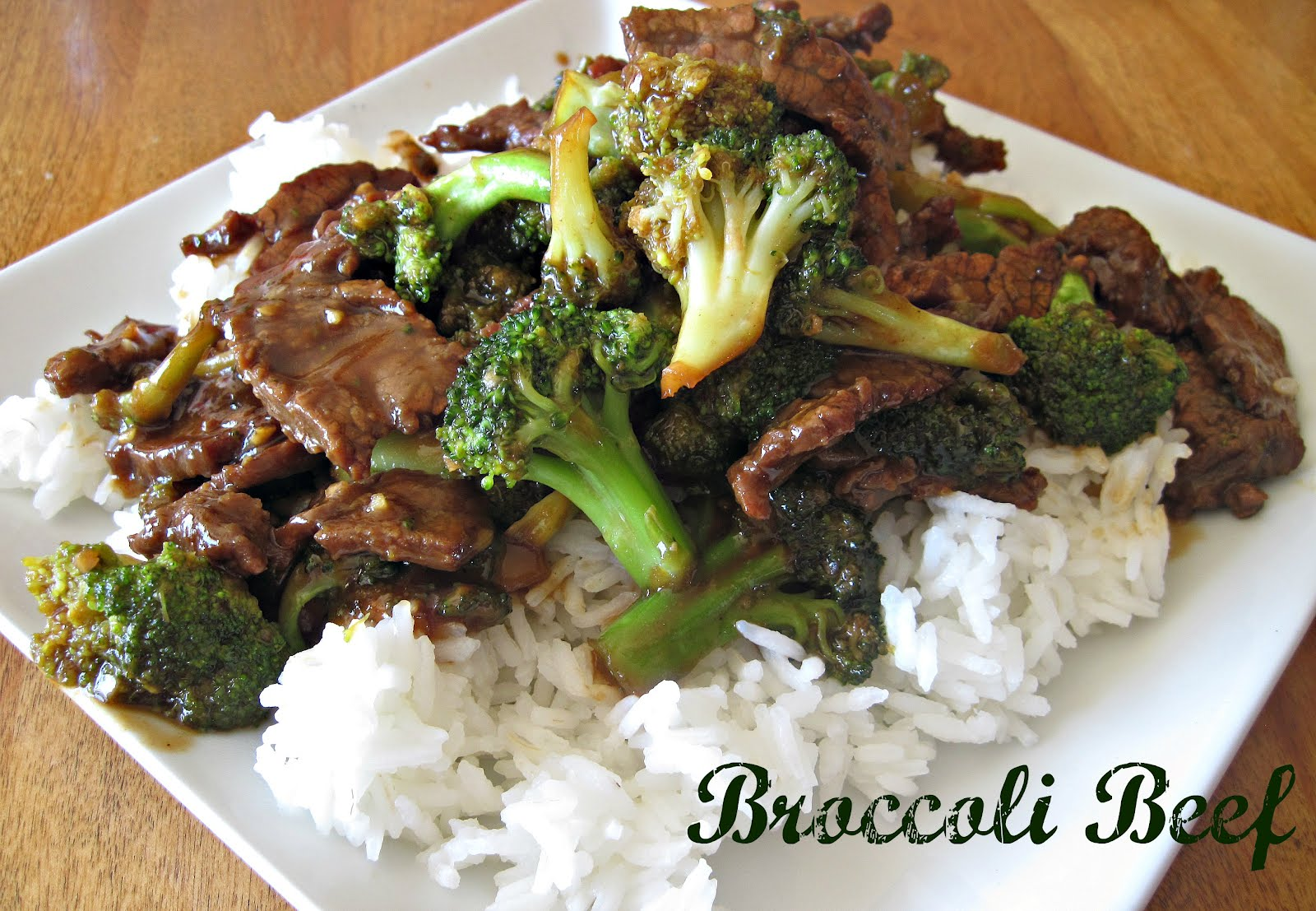 Aubrey's Recipes: The Best Broccoli Beef