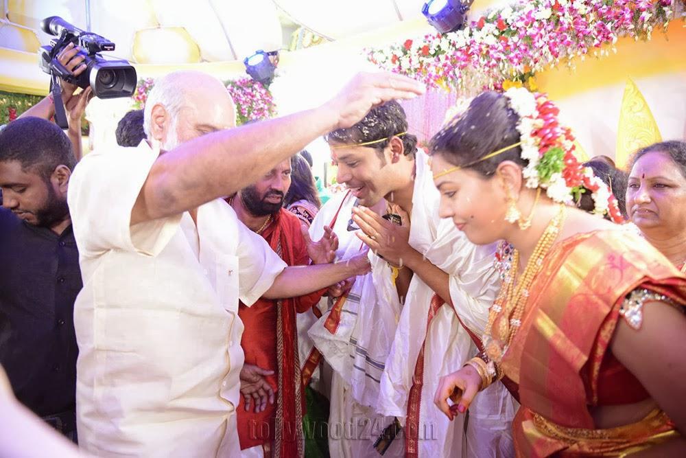 Nandu Geetha Madhuri Marriage Photos Wedding stills-HQ-Photo-2