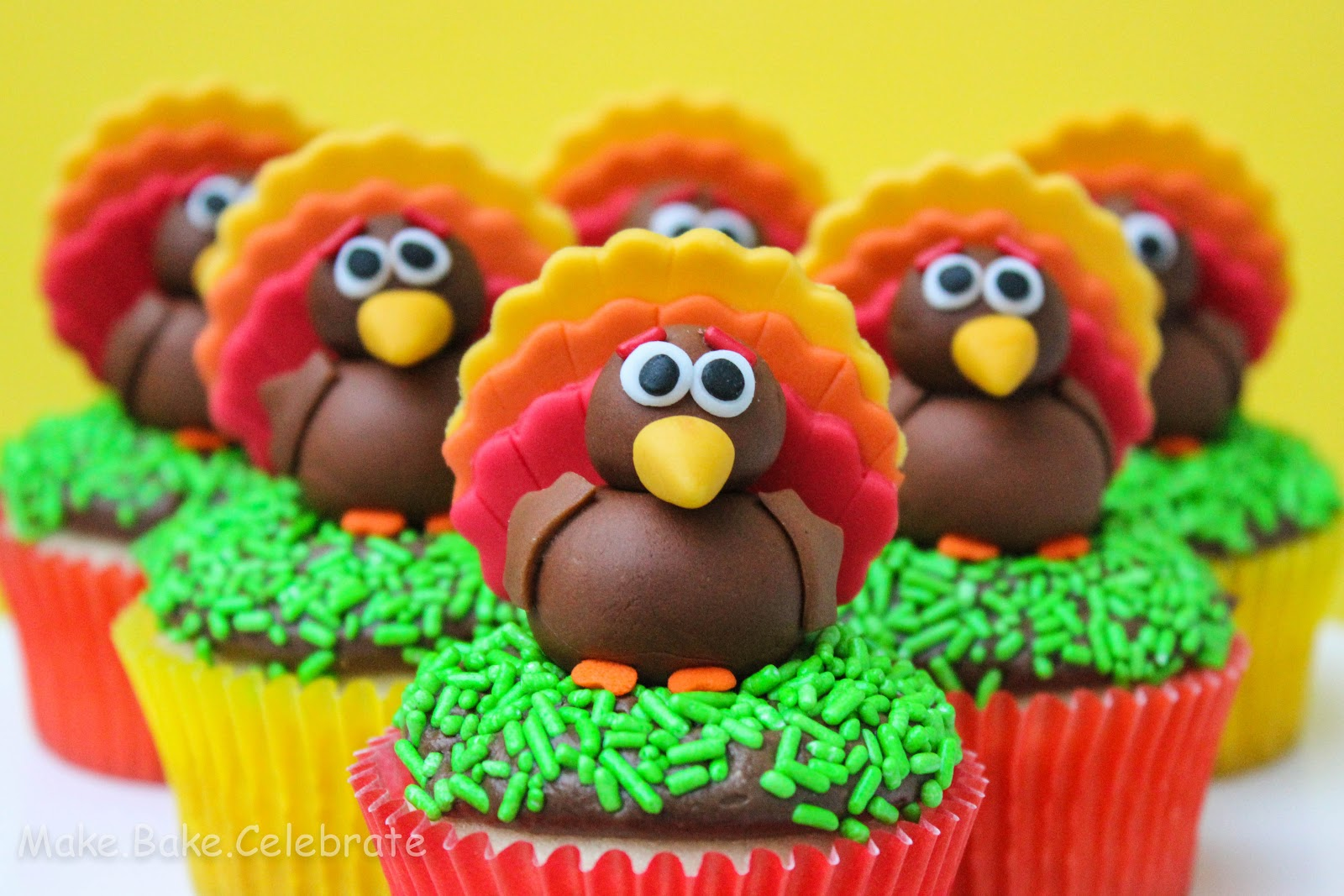 Cute Cake Ideas For Thanksgiving : Cute Thanksgiving Turkey Cake Ideas and Designs