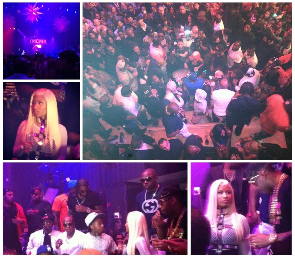 Nicki Minaj & YMCMB @ LIV April 8th