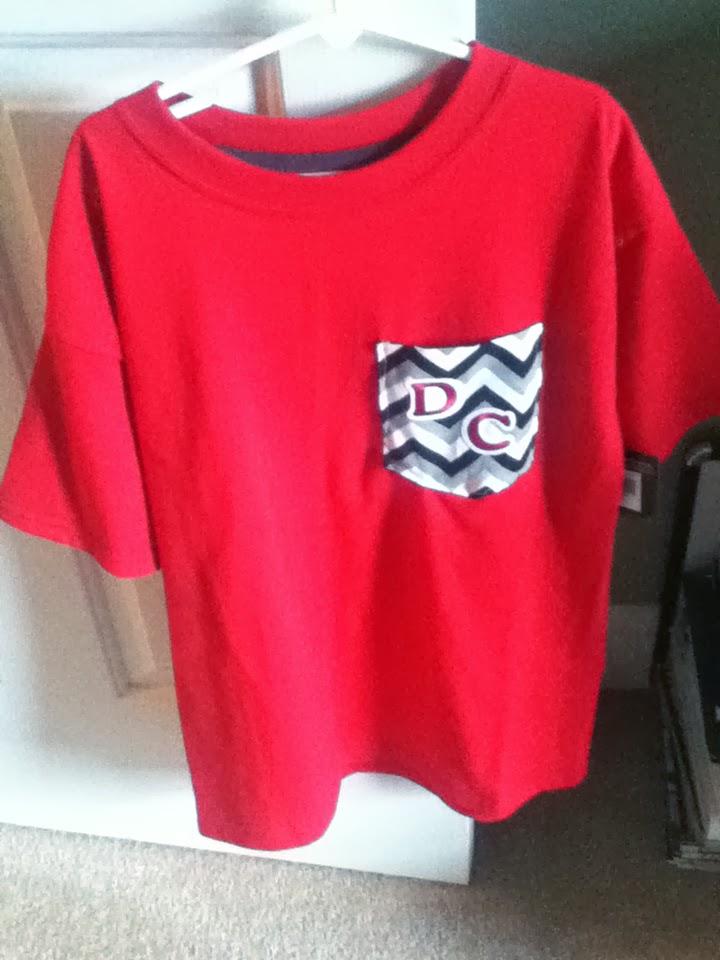 Diy Projects Crafts School Spirit T Shirts