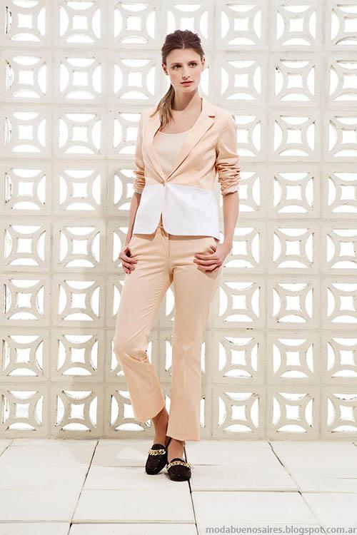 Trajes de mujer moda verano 2015, colección Clara primavera verano 2015.