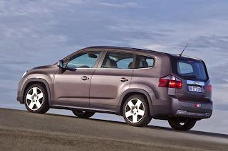 Monovolumul Orlando de la Chevrolet