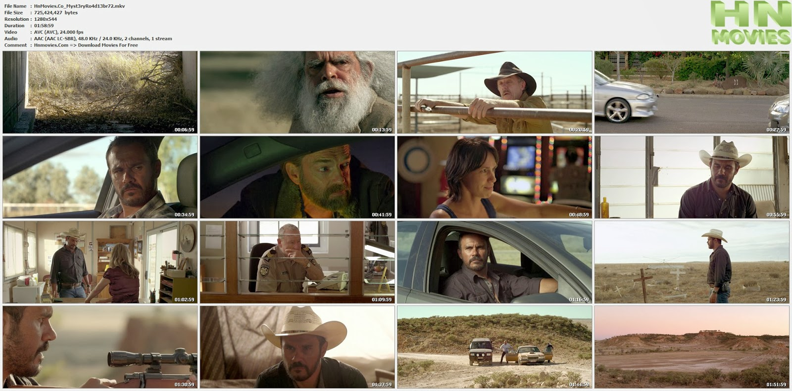 movie screenshot of Mystery Road fdmovie.com