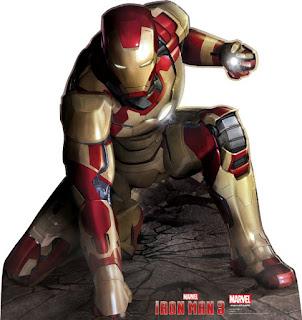 Iron Man 3 Cardboard Cutout! Crouch