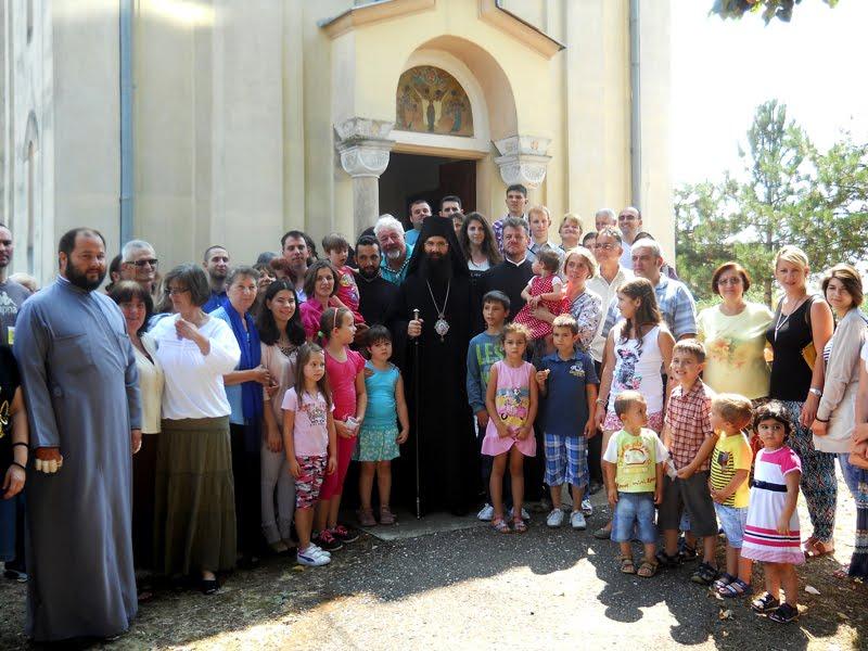 Евхаристијско сабрање у Јесеничком Вазнесенском храму, 2015. лета господњег