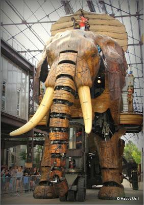 La Galerie des Machines de Nantes - Grand Elephant