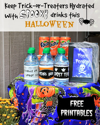 Keep trick-or-treaters hydrated with spooky drinks this Halloween! #SpookySnacks #shop