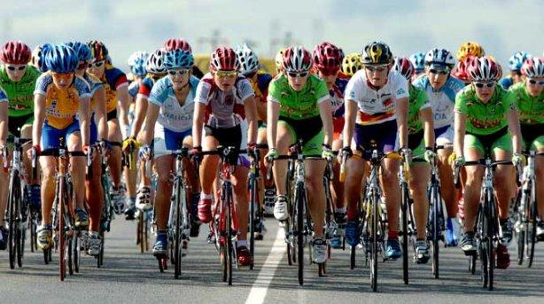Ciclismo femenino; sí, de chicas