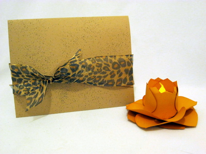 Invitación animal print
