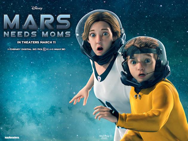 Pemain Mars Needs Moms