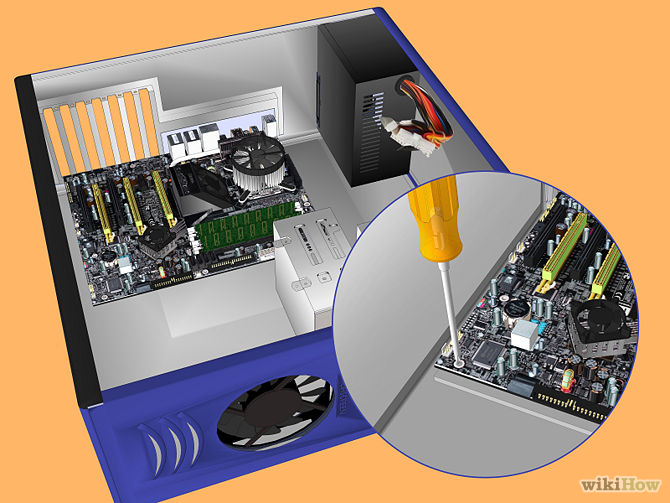 [Hardware tips] - How to Build a Personal Desktop Computer by myself in 12 steps 8