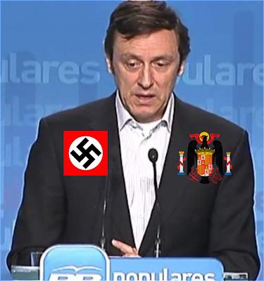 Noticias criminología. Rafael Hernando haciendo apología del golpismo y del fascismo. Marisol Collazos Soto