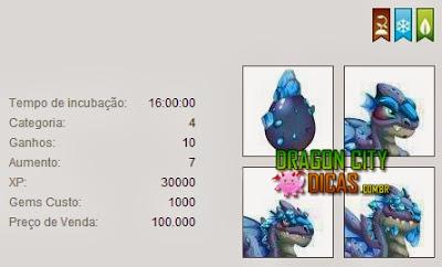 Dragão Quartzo - Informações