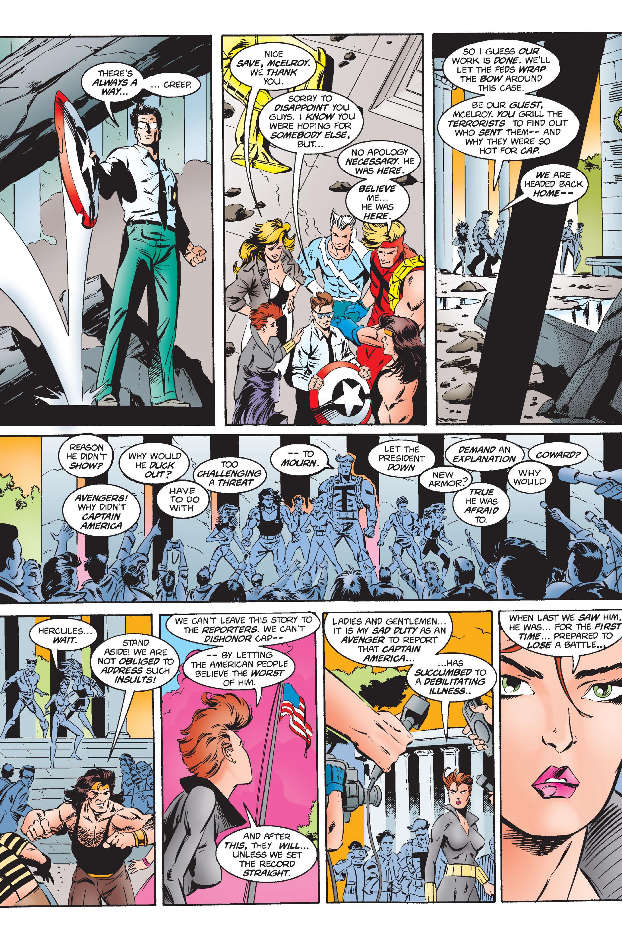 Captain America (1968) Issue #444 #398 - English 19