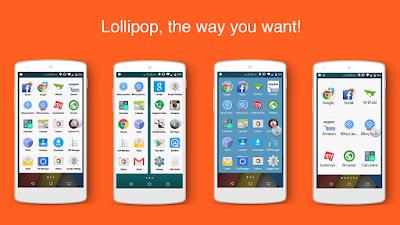 Lollipop Launcher Plus Apk