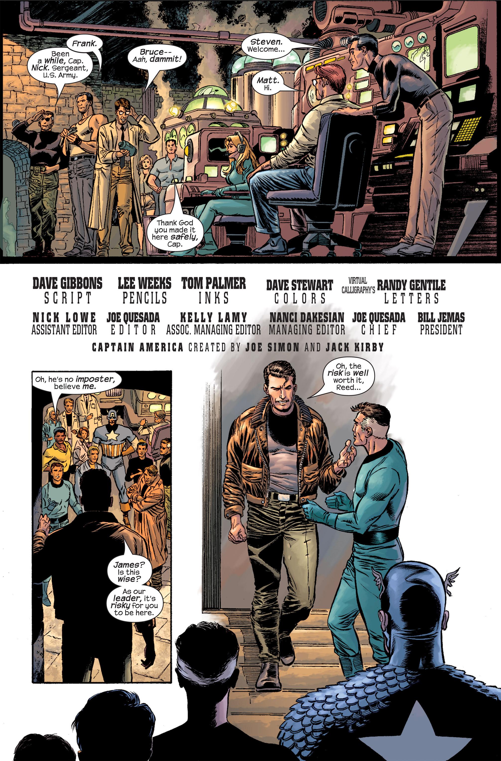 Captain America (2002) Issue #19 #20 - English 5