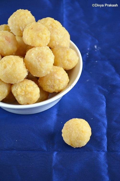 Easy to make traditional laddu recipe