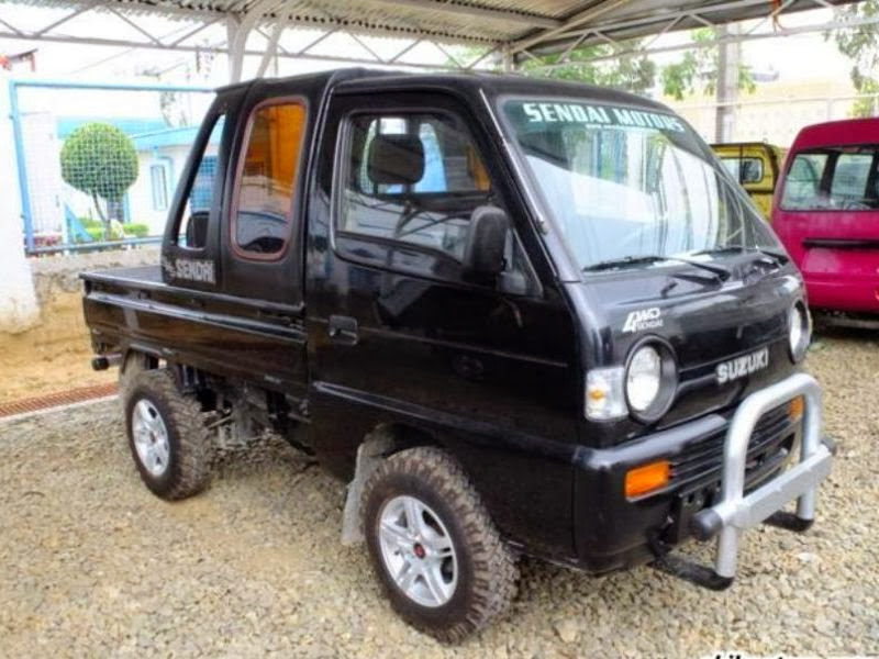 SUZUKI CARRY PICK UP 1984 OFF ROAD title=