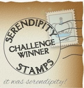 Serendipity Stamps Challenge Winner