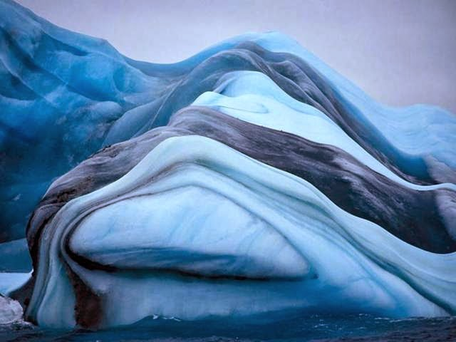 LAKE MICHIGAN ICEBERGS  10
