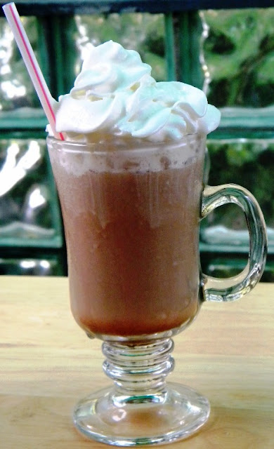 Mystery Lovers' Kitchen: How to make a copycat Starbucks Frappuccino and Test Your Coffee IQ with Cleo Coyle