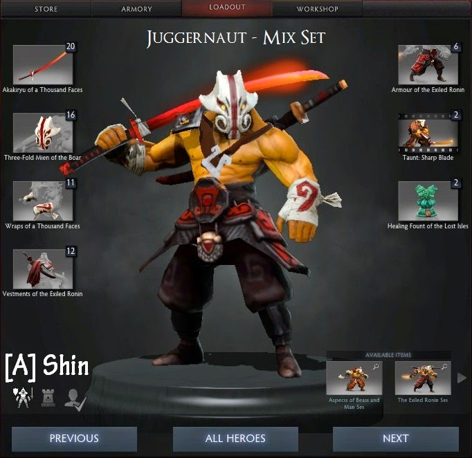 Juggernaut Mix Set