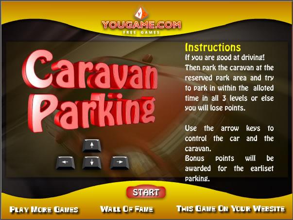 Truck Game : Caravan Parking