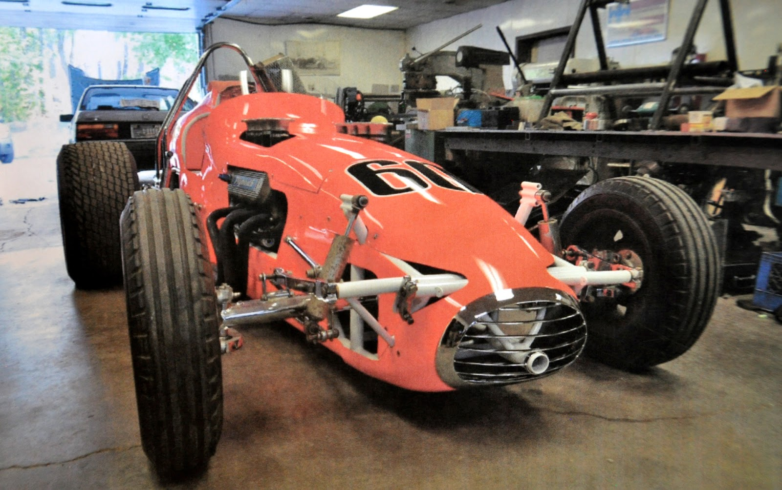 Just Cars Blog: somewhere out there this 1960\'s race car with a ...
