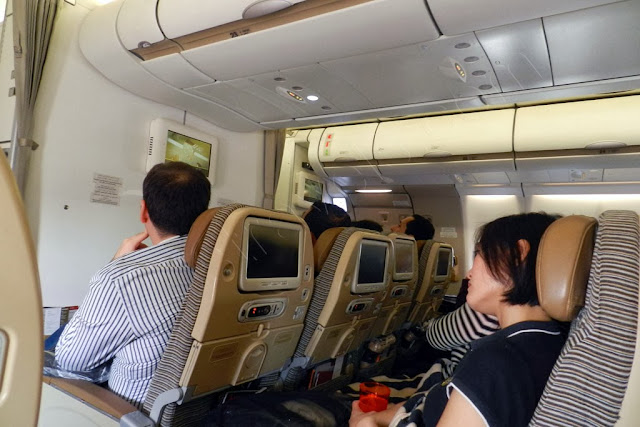 Etihad Airbus A330 - economy class