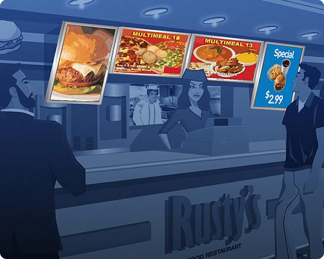sugerencia de menus en el punto de venta