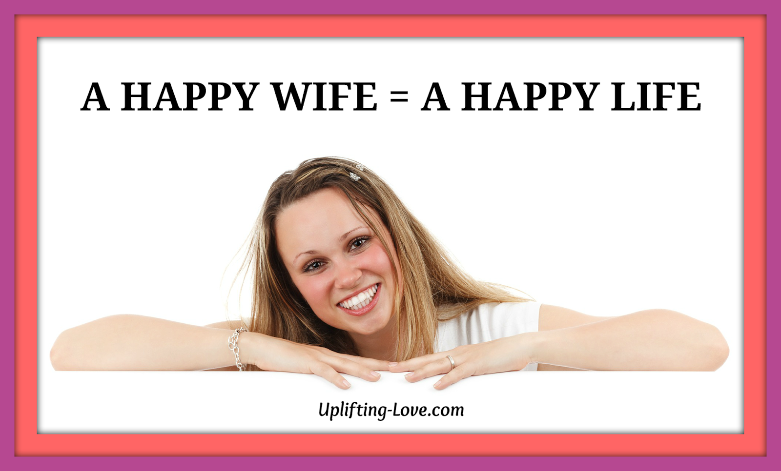 Happy Wife Happy Life Happy Husband | www.imgkid.com - The ...