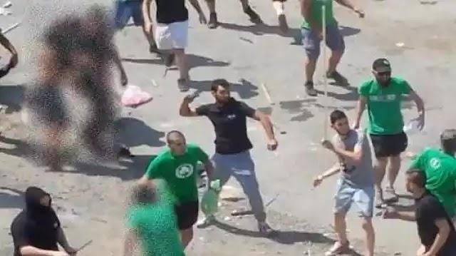 Σοκ στην Κύπρο: Τουρκομογγόλοι  Οπαδοί ομάδας έκαψαν την ελληνική σημαία!