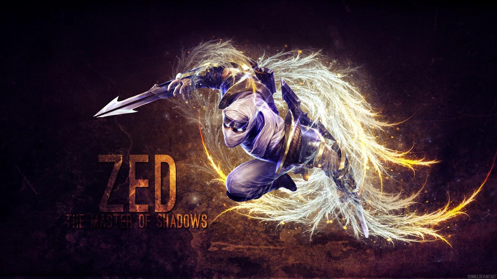 Tải hình ảnh Zed LOL làm ảnh nền ảnh bìa full HD