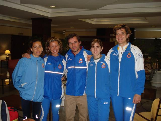Equip femení RCDEspanyol 2008