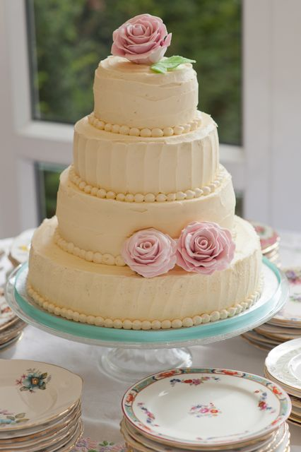 Vintage And Cake Beautiful Rustic Vintage Wedding Cake