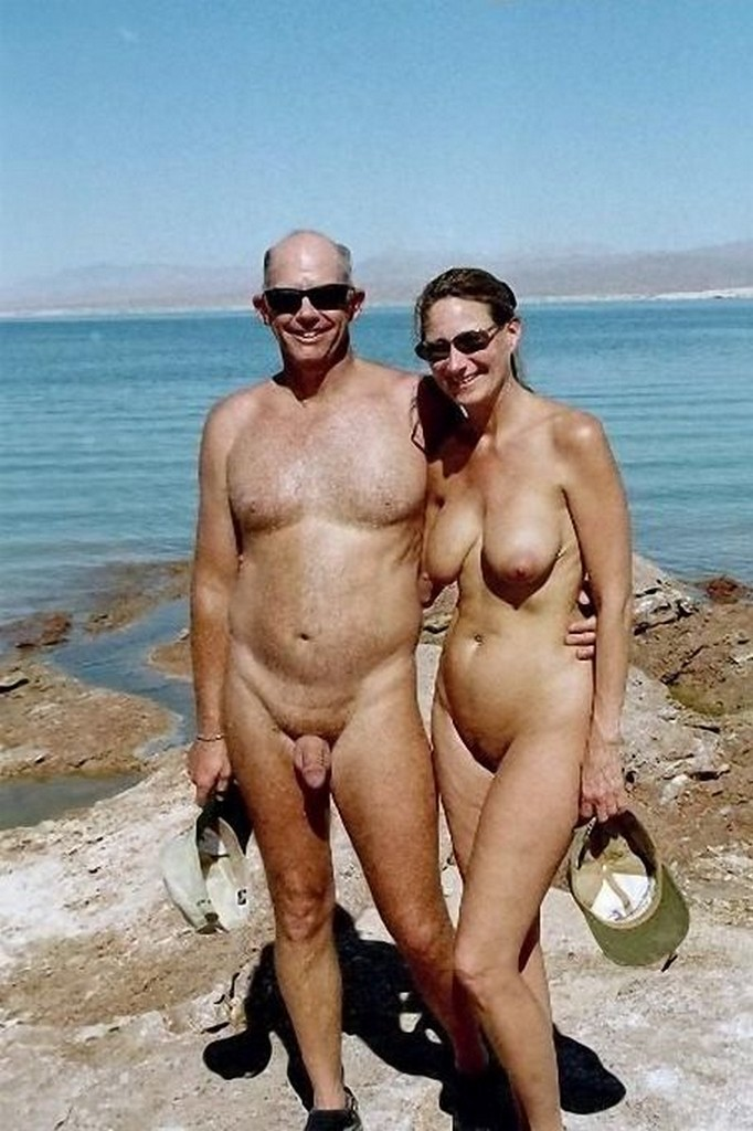nude at beach Mature