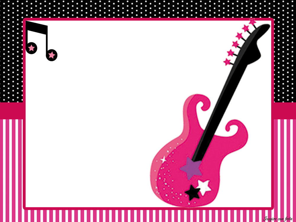 Rock Star in Pink Free Printable Kit. | Oh My Quinceaneras!