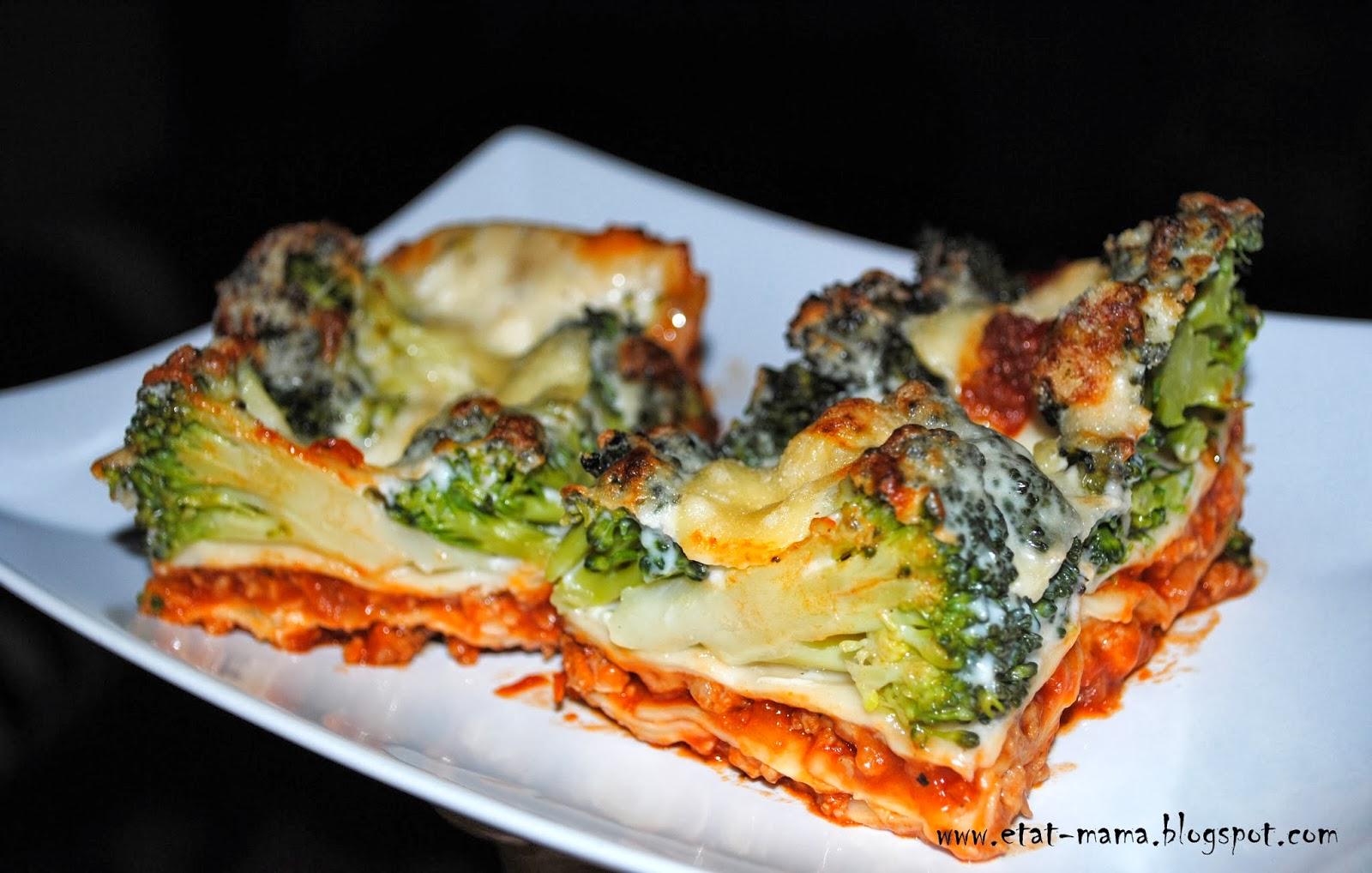 Etat Mama Lasagne Miesna Z Brokulami