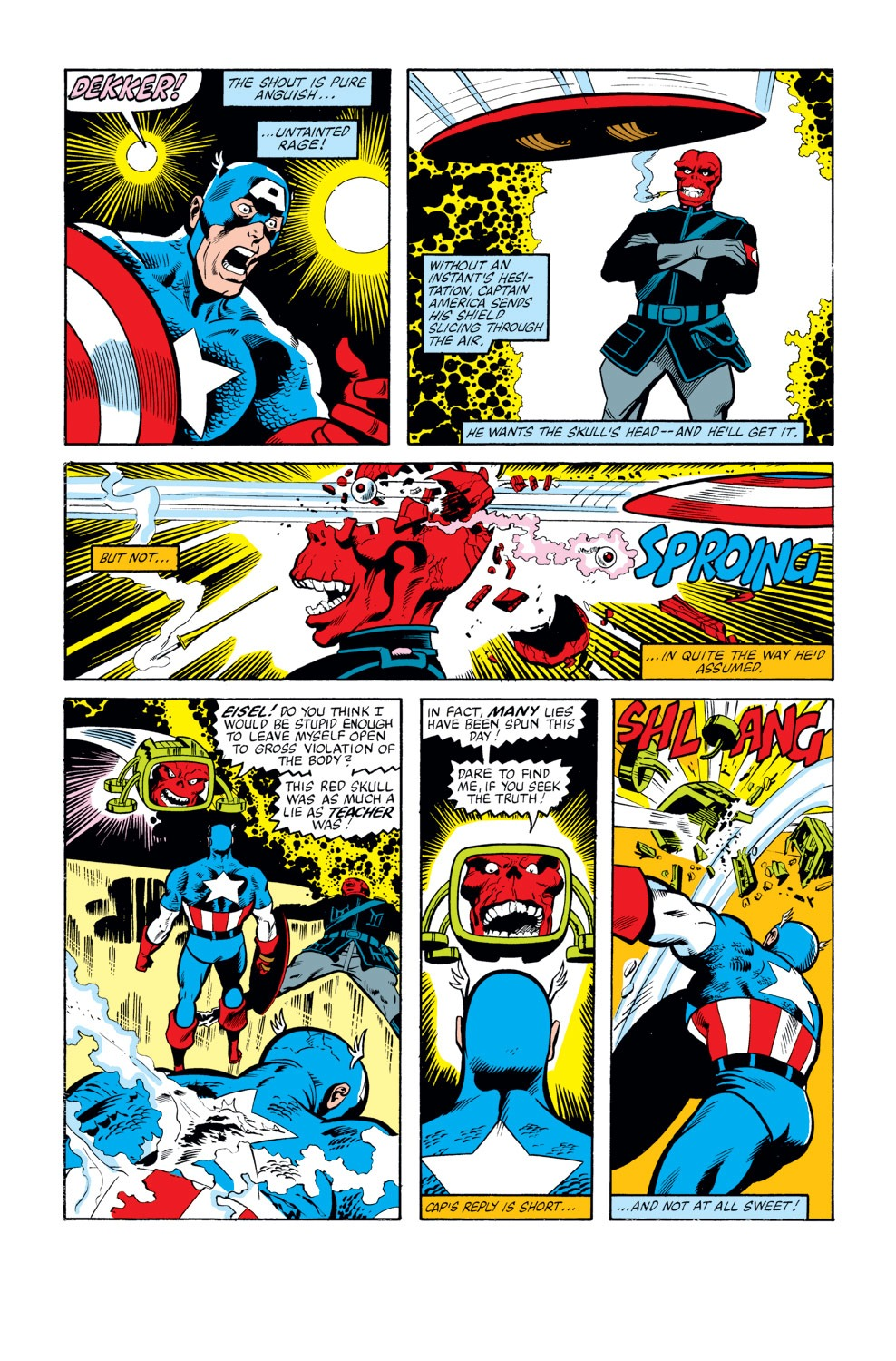 Captain America (1968) Issue #263 #178 - English 9
