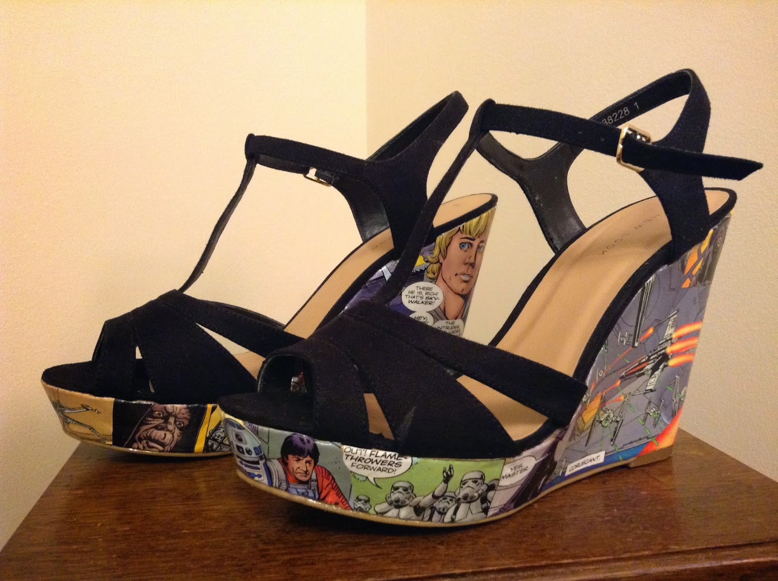 Star Wars shoes heels