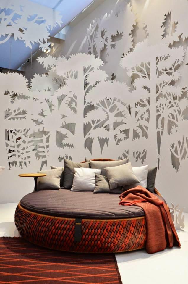Gartenmöbel und Outdoor Möbel von Dedon auf der Mailänder Möbelmesse - perfekt für Terrasse und Garten!