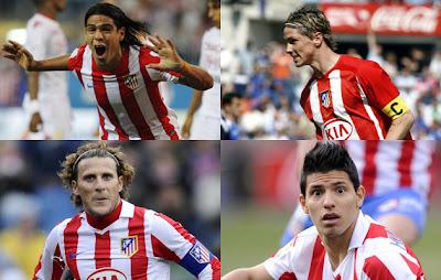 `Top 5´ los mejores delanteros del Atlético de Madrid