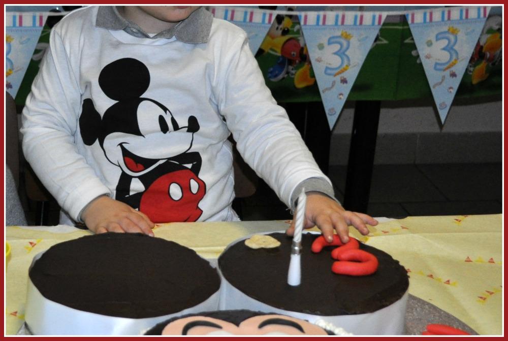 Pasticciando in cucina michey mouse party per il
