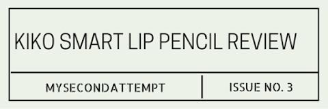 That Perfect Autumn Lip Pencil - Kiko Smart Lip Pencil Review