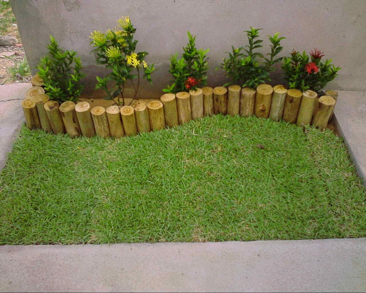 Casa da arteira jardins verticais e pequenos catinhos - Antejardines pequenos fotos ...