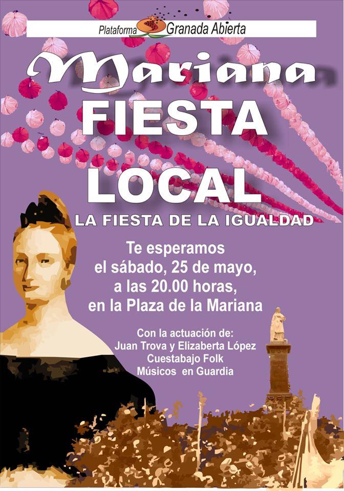 MARIANA FIESTA LOCAL. LA FIESTA DE LA IGUALDAD.